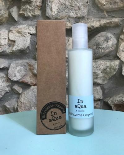 Crema hidratante corporal In aQua. Envase 200ml.