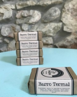 Jaboncito artesanal In aQua Barro Termal. Pastilla 100gr.